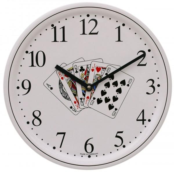 Keramik-Uhr / Skatblatt