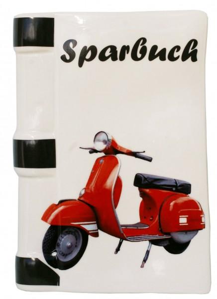 Spardose Motiv / Moped