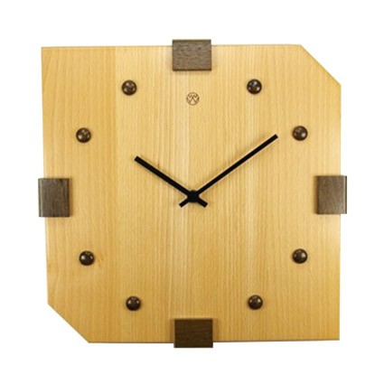 Holz - Wanduhr
