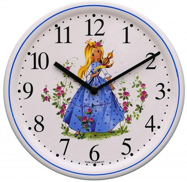 Kinderzimmer-Uhr / Dornröschen