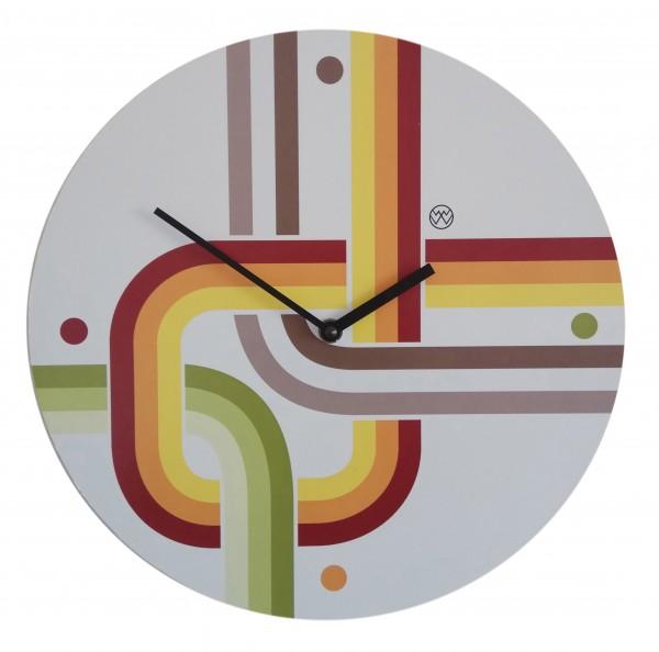 Quarz-Uhr Retro/Look