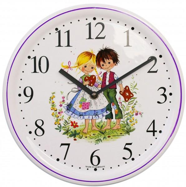 Kinderzimmer-Uhr / Hänsel und Gretel