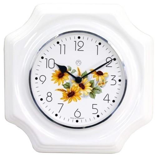 Quarz-Küchenuhr ( Sonnenblumen )