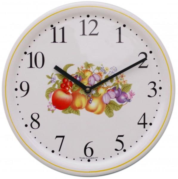 Keramik-Uhr / Früchte